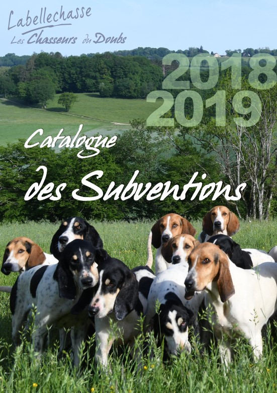Catalogue des subventions